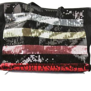 VICTORIA'S SECRET Large Multi-Color Sequin Bag